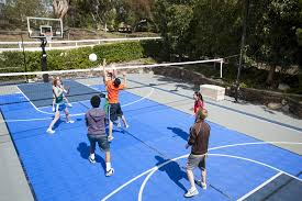Sports Courts For Backyards Sport Court Construction San Antonio Outdoor Basketball Court