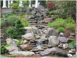 Backyard Waterfall Ideas by Backyards Ergonomic Backyard Waterfalls And Ponds Found On