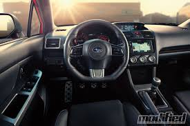 subaru impreza wrx 2017 interior 2015 subaru wrx modified magazine