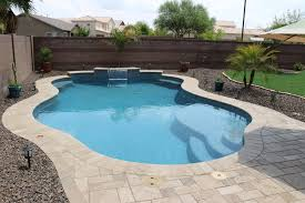 Simple Backyards  Presidential Pools Spas  Patio Of Arizona - Simple backyard design