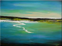 Abstract Landscape Painting by Original Abstract Landscape Painting Acrylic On Canvas Sold By