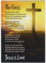 pocket crosses pocket crosses god you jesus lord blank