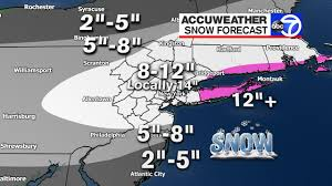 New Jersey travel forecast images Accuweather alert winter storm warning through thursday across jpg