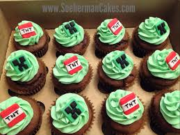 minecraft cupcakes minecrafts cupcake cupcakes birthdays cake and