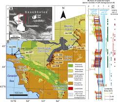 Caspian Sea World Map by Giant Landslides And Highstands Of The Caspian Sea Geology