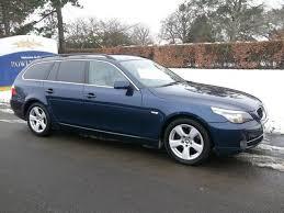 used bmw 5 series estate for sale used bmw 5 series 2008 blue colour diesel 520d se door estate for