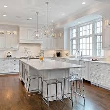 All White Kitchen Cabinets Best 25 Classic White Kitchen Ideas On Pinterest Wood Floor