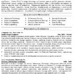 It Manager Resume Template It Manager Resume Example Program Manager Recentresumes Com