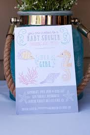 the sea baby shower invitations the sea marine baby shower