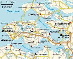 map zeeland netherlands maps and directions at map