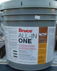 bruce all in one hardwood flooring adhesive 4 gallons ebay