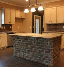 brick island surround harris doyle kitchens pinterest bricks