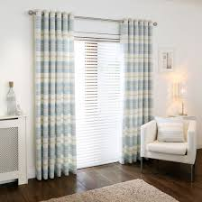 Curtains Online Buy Remus Stripe Azure Eyelet Curtains Online Home Focus At Hickeys