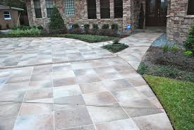 concrete designs florida winter park driveway with amazing curb