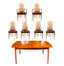 Drexel Heritage Dining Room Chairs Mid Century Drexel Heritage Dining Table And Chairs Ebth