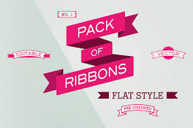 18 ribbon graphic design images free vector graphics ribbons