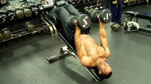dumbbell decline press fly workout video 3 18 09 youtube