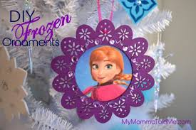 Frozen Christmas Decorations Easy Diy Frozen Christmas Ornaments U0026 Tree Topper Hello Nutritarian
