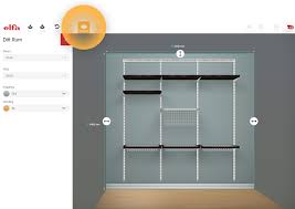room measurement tool elfa plan your own wardrobe and storage solution here