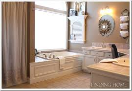 Gray And Tan Bathroom - finding paint colors in our home finding home farms