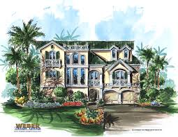 this three story home plan offers just over 4 000 square feet of