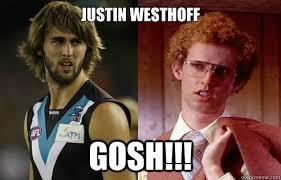 Gosh Meme - justin westhoff gosh justin napoleon meme quickmeme