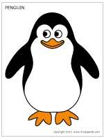 penguin printable templates u0026 coloring pages firstpalette