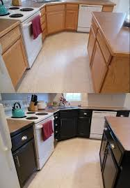 staining kitchen cabinets before and after gel stained kitchen cabinets hometalk