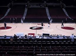 moda center section 101 seat views seatgeek