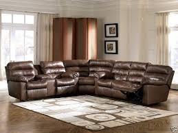 Brown Leather Recliner Sofa Ashley Furniture Reclining Sofa Discounted Sofa
