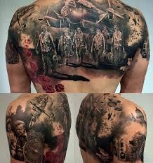 Best Back Tattoos For Guys Ww2 On Guys Back Best Design Ideas