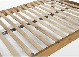 King Size Pine Bed Frame King Size 5 Ft Natural Wood Bed Frame Thomson
