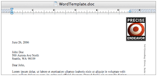 creating letterhead templates in microsoft word the graphic mac