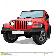 jeep cars red jeep car clipart explore pictures
