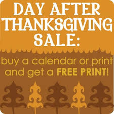 day after thanksgiving sale in s etsy shop