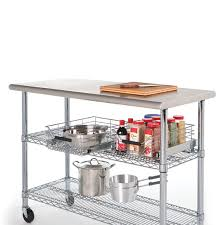amazon com seville classics commercial stainless steel top