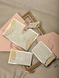 blush and gold wedding invitations wedding app free until 30 november 2015 thank you for your
