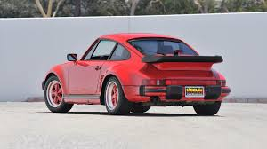 porsche red paint code 1987 porsche 911 turbo slantnose s130 monterey 2013