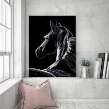 pop art horse canvas fortune u0026 hopkins homeware and ceramics