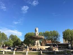 aix en provence fountain spotting in aix en provence