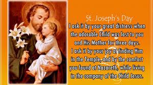 a thanksgiving day prayer 30 day prayer to st joseph youtube