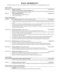 It Internship Resume Resume For College Students Haadyaooverbayresort Com