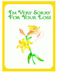 condolences greeting card sympathy greeting card gallery greeting card exles