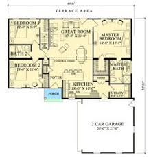 1st Floor Master House Plans First Floor Plan Of Cape Cod Ranch Traditional House Plan 59065