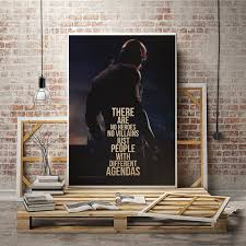 daredevil poster print quote gift wall art home decor netflix