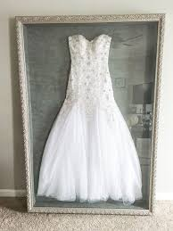 wedding gown preservation best 25 wedding dress frame ideas on wedding dress