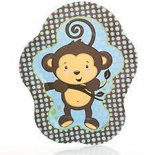 monkey boy baby shower monkey boy baby shower dinner plates 8 ct bigdotofhappiness