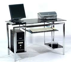 L Shaped Black Glass Desk Glass Pc Desk Computer Desk Competent L Shaped Computer Desk Large