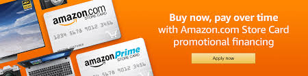 amazon com promotional financing with the amazon store card