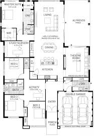 single story house floor plans best 25 single storey house plans ideas on single